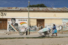 Argentina-Bolivian border Stock Photo