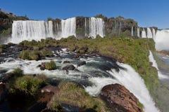 argentina brazil gör den fallsfoz iguassuen Royaltyfri Foto