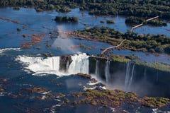 argentina Brazil robi Foz iguassu Zdjęcie Royalty Free
