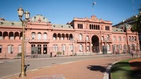 Argentina Buenos Aires Casa Rosada Time Lapse