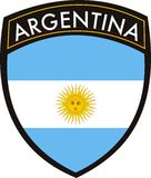Argentina crest Stock Images