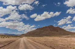 Argentina dirt road Royalty Free Stock Image