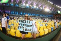 Argentina e Bósnia futebol de 2014 campeonatos do mundo Foto de Stock