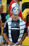 Argentina e Bósnia futebol de 2014 campeonatos do mundo Imagens de Stock