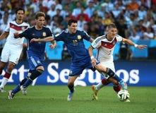 Argentina e Bósnia futebol de 2014 campeonatos do mundo Imagens de Stock Royalty Free