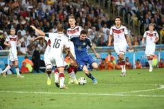 Argentina e Bósnia futebol de 2014 campeonatos do mundo Fotografia de Stock