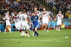 Argentina e Bósnia futebol de 2014 campeonatos do mundo Fotos de Stock Royalty Free