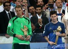 Argentina e Bósnia futebol de 2014 campeonatos do mundo Fotografia de Stock Royalty Free