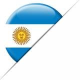 Argentina fackflagga Fotografering för Bildbyråer
