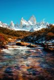 Argentina Fitz Roy Foto de Stock