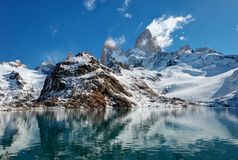 Argentina Fitz Roy Imagem de Stock Royalty Free