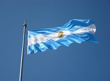 Argentina Flag Royalty Free Stock Photos