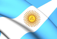 argentina flagę ilustracja wektor