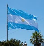argentina flagę Fotografia Royalty Free
