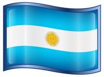 Argentina Flag icon Stock Photos