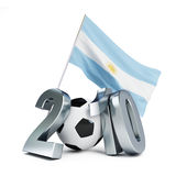 Argentina football Stock Photo
