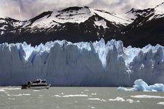 argentina glaciärmoreno patagonia san Arkivbild