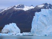 argentina glaciärmoreno perito Royaltyfri Fotografi