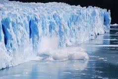 argentina glaciärmoreno perito Arkivfoto