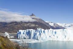 argentina glaciärmoreno perito Royaltyfria Bilder