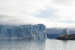 argentina glaciärmoreno perito Arkivbilder