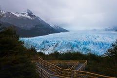 argentina glaciar moreno perito Fotografering för Bildbyråer