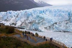 argentina glaciar moreno perito Royaltyfria Bilder