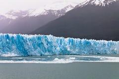 argentina glaciar moreno perito Arkivbilder