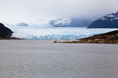 argentina glaciar moreno perito Arkivfoto