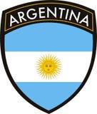 argentina grzebień royalty ilustracja
