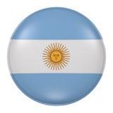 Argentina knapp vektor illustrationer