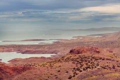 Argentina kust royaltyfria foton