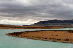Argentina Lago Argentino foto de stock