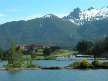 Argentina landscapes. Llao Llao place at Bariloche, South of Argentina Royalty Free Stock Images