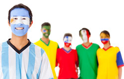 Argentina leading Latin group Stock Image