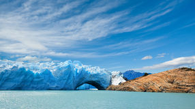 argentina lodowa Moreno patagonia perito Zdjęcia Royalty Free