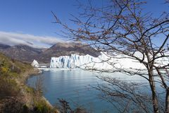 argentina lodowa Moreno perito zdjęcia stock