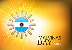 Argentina malvinas day Stock Images