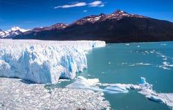 argentina moreno perito Arkivbild