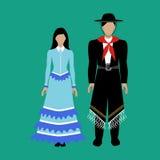 Argentina national costume Gaucho Stock Photo