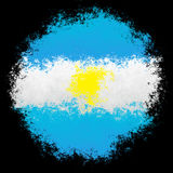 Argentina national flag Royalty Free Stock Image