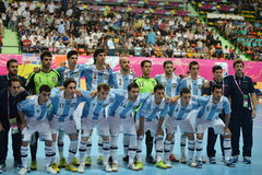 Argentina national futsal team Royalty Free Stock Images