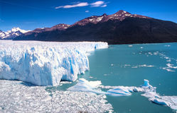 argentina perito Moreno Fotografia Stock