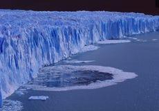 Argentina: The Perito Moreno Glacier at Lake Argentino in Patagonia stock images