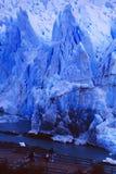 Argentina: Perito Moreno Glacier no lago Argentino fotografia de stock royalty free
