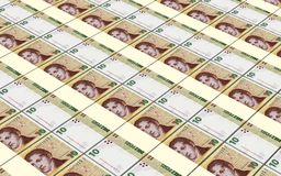 Argentina pesos bills stacks background. Royalty Free Stock Photo