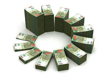 Argentina Pesos Chart Royalty Free Stock Photography