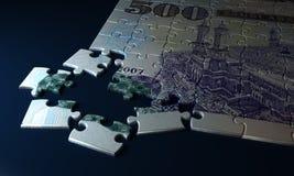 Argentina Pesos Puzzle Stock Photo