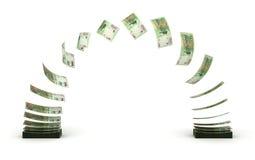 Argentina Pesos Transfer Royalty Free Stock Photos