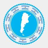 Argentina plan stämpel vektor illustrationer